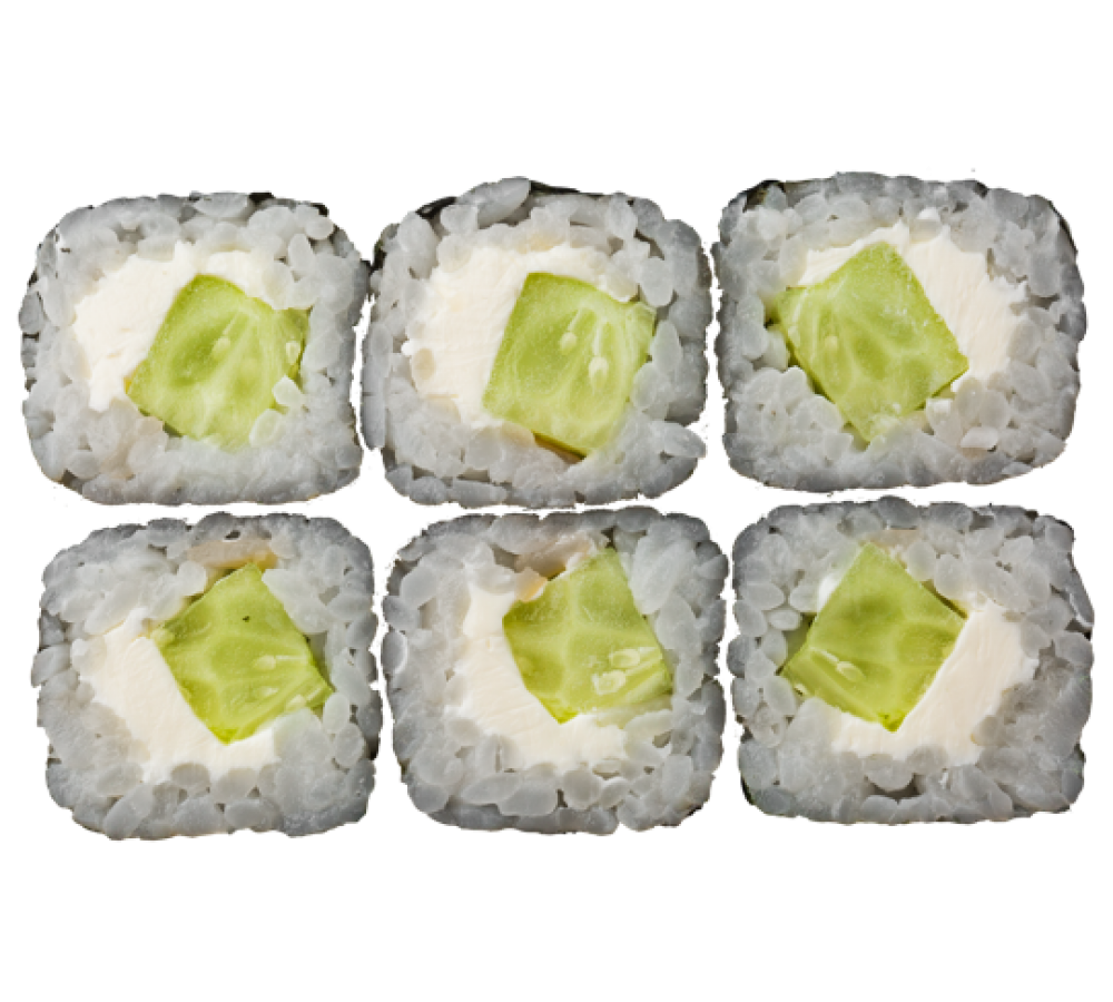 Огірок крем-сир макі